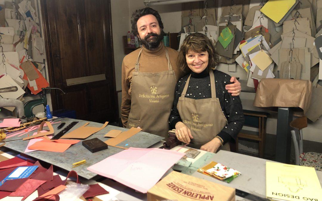 La storia della pelletteria artigiana Viviani, lunga tre generazioni.